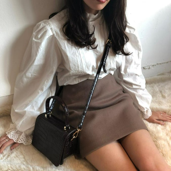 simple mini skirt-0