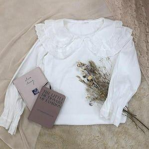lace lace blouse