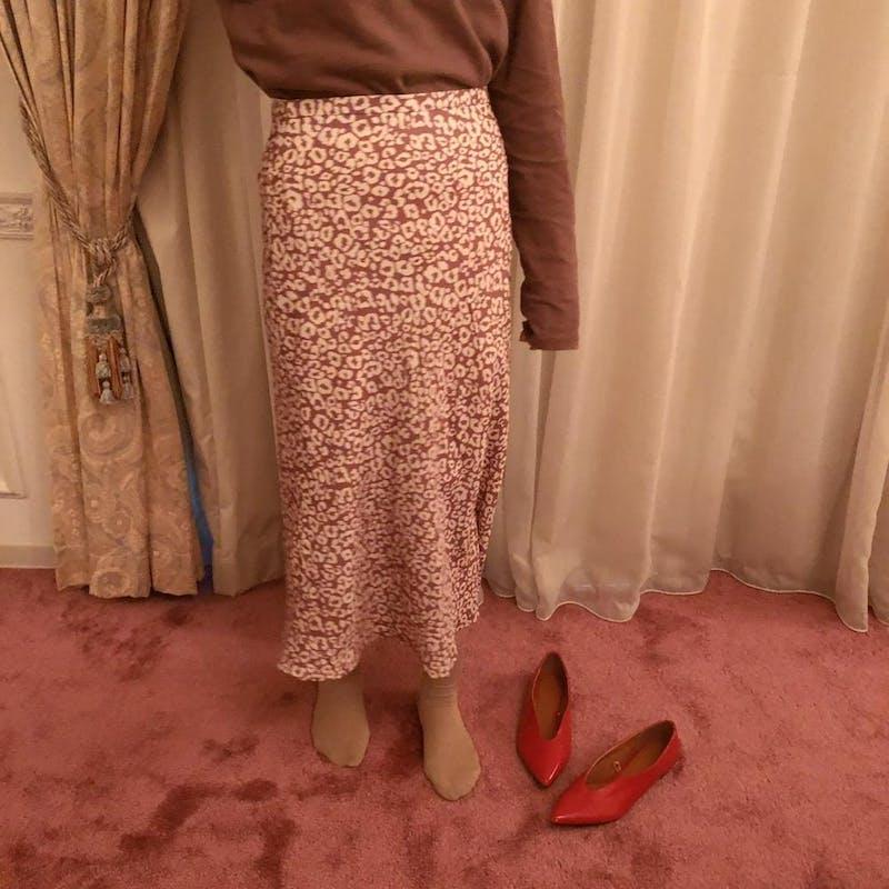 フレーズレオパードスカートの画像8枚目