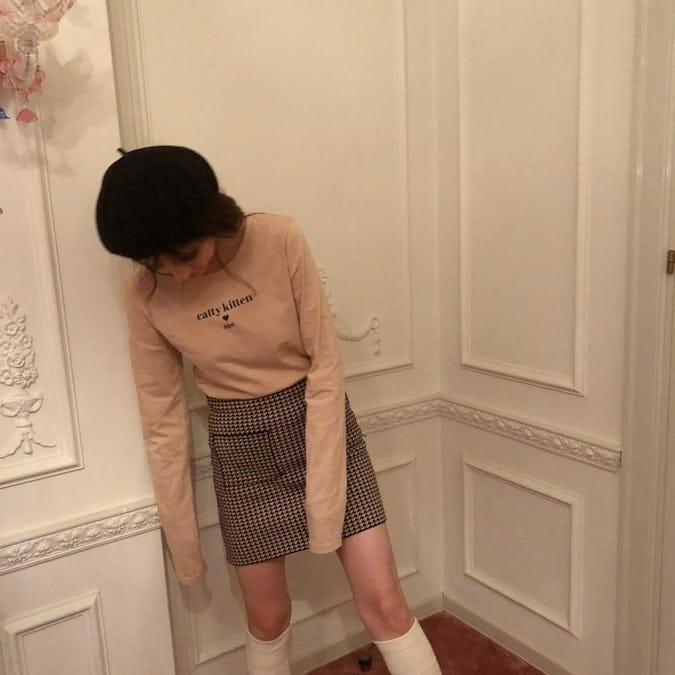 【10/23~順次発送】tweed sk