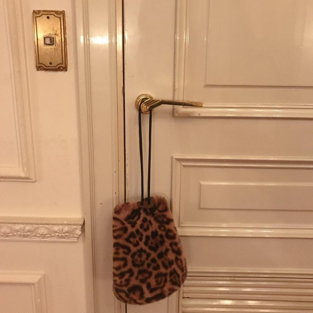 leopard animal bag