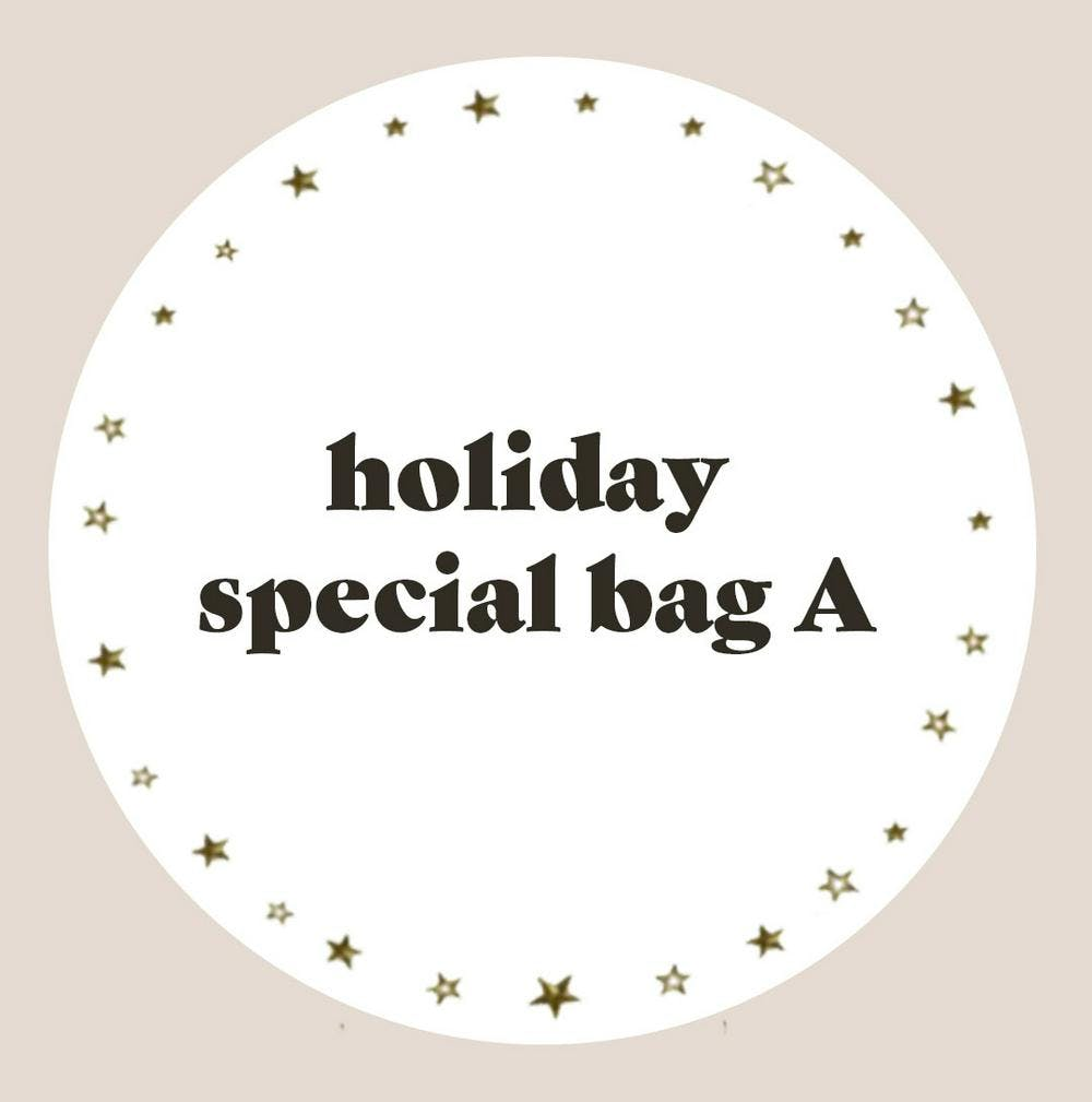 holiday special bag A