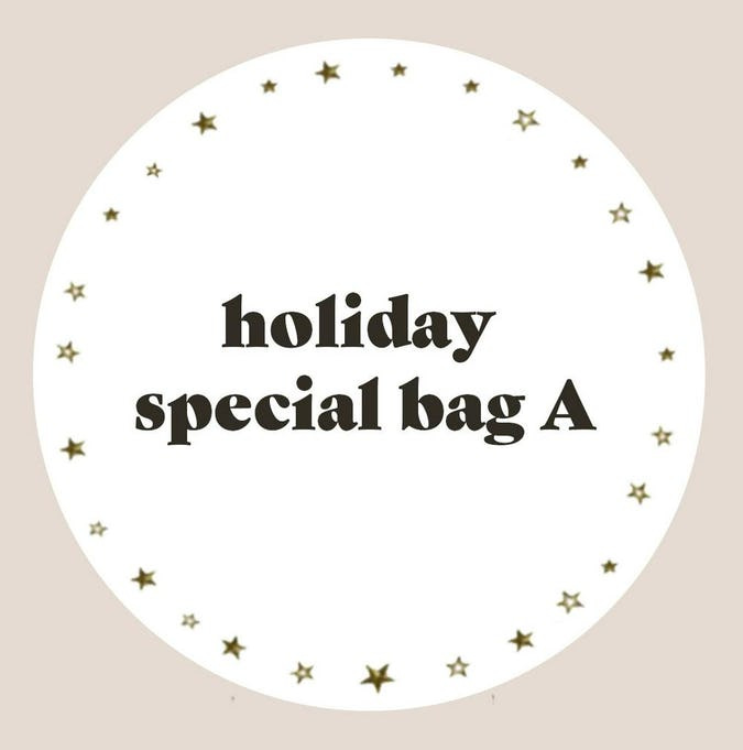 holiday special bag A-0