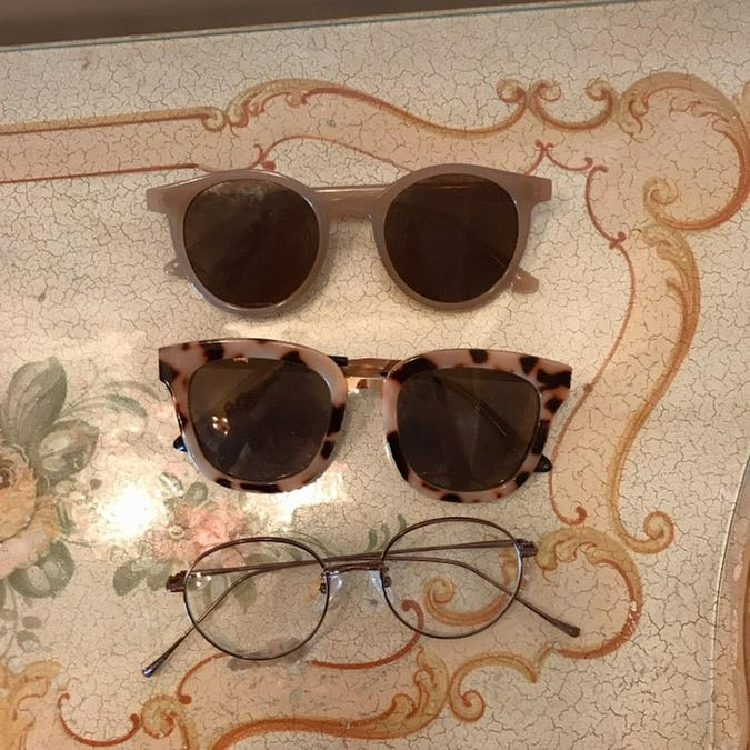 french glasses