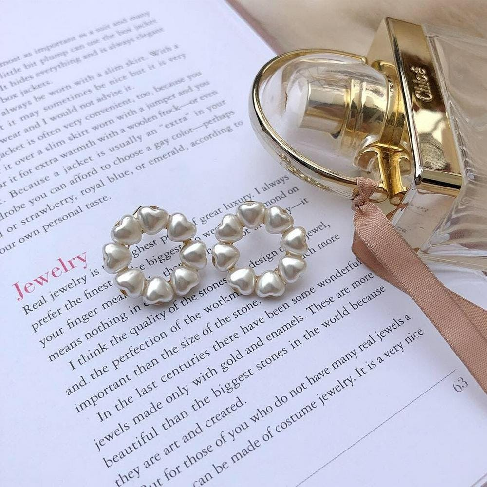 【5/21~順次発送】lovely pearl earring