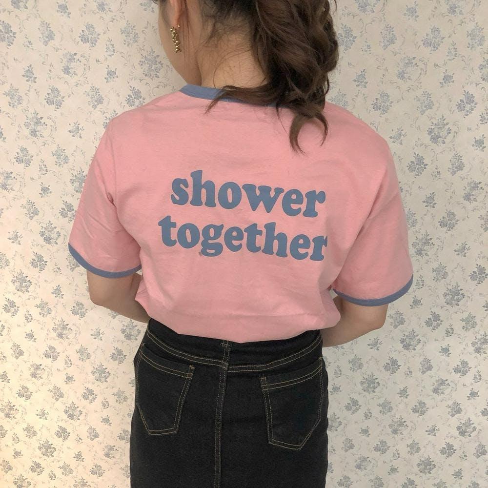shower T