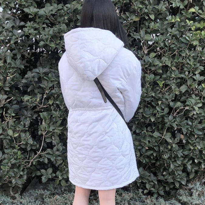 Quilting down coat