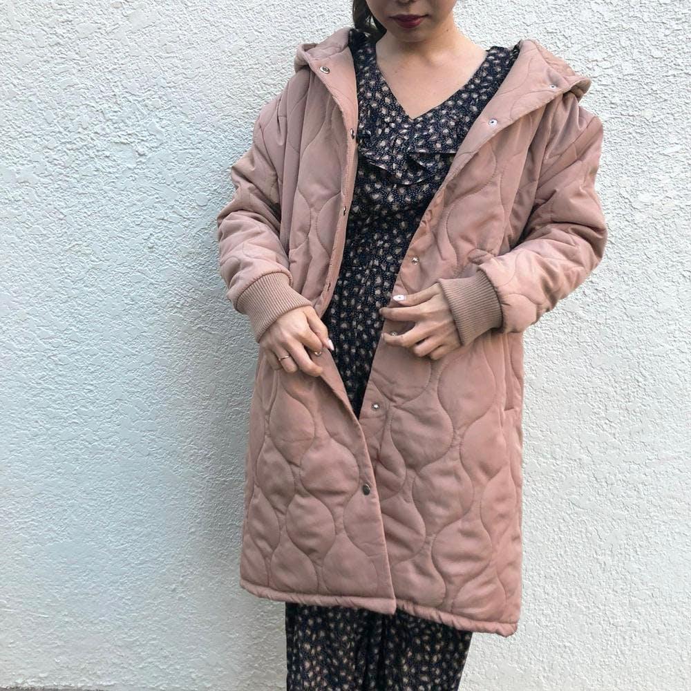 Quilting down coat-0