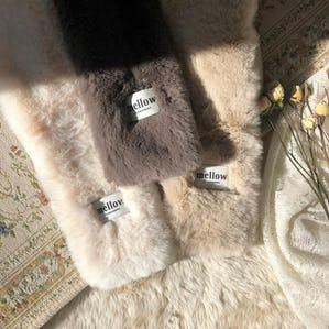 【12/5~順次発送】mellow fur muffler