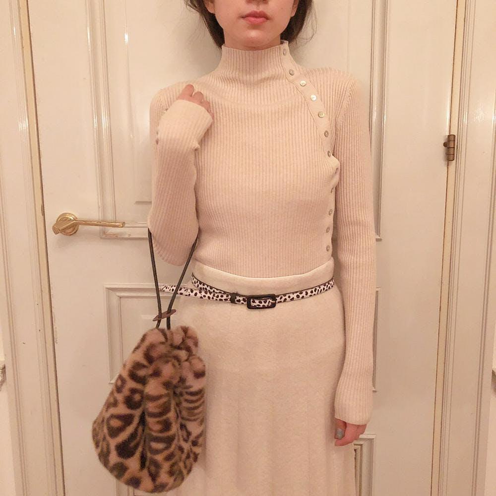 button line knit-0