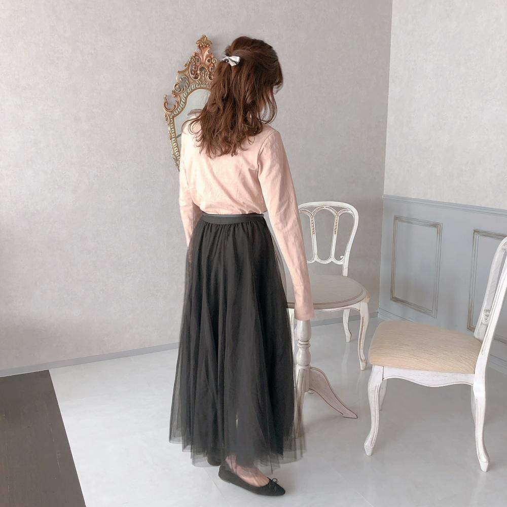 catty tulle skirt