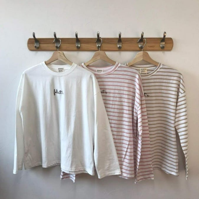 felicità ロングTシャツ