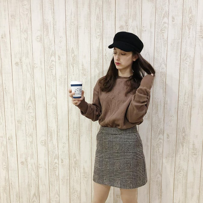 original long sleeve thermal《chocolate》