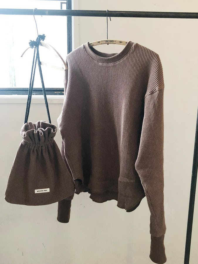 original long sleeve thermal《chocolate》-0