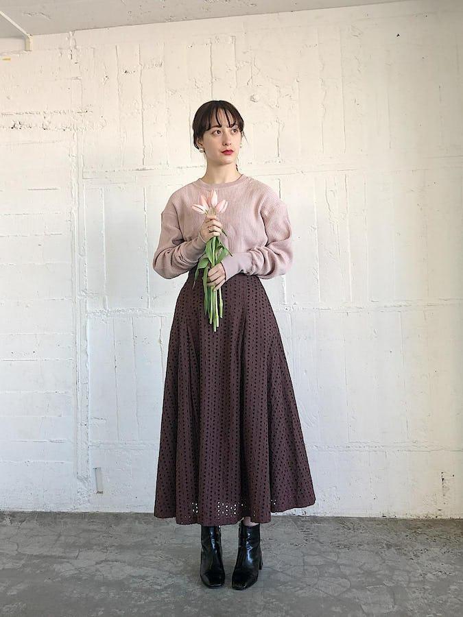 original long sleeve thermal《pink》