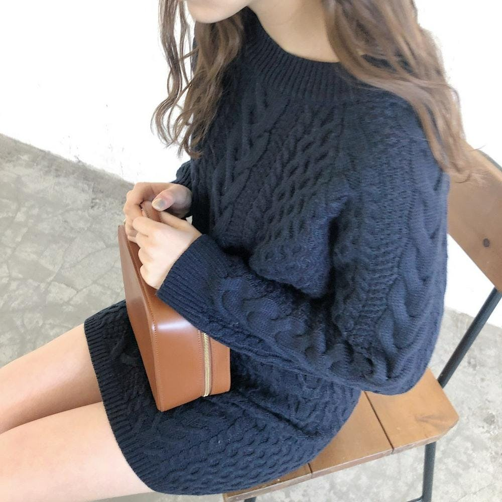 cable knit setup