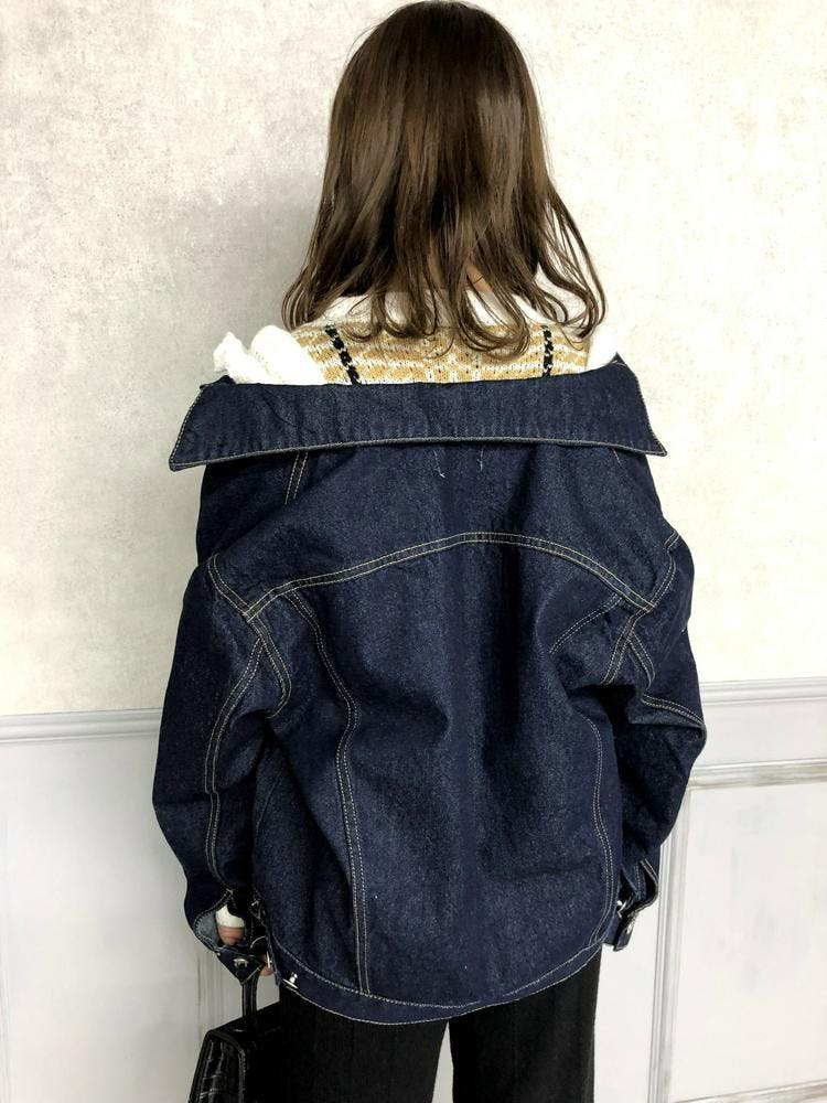 big stitch denim jacket-0