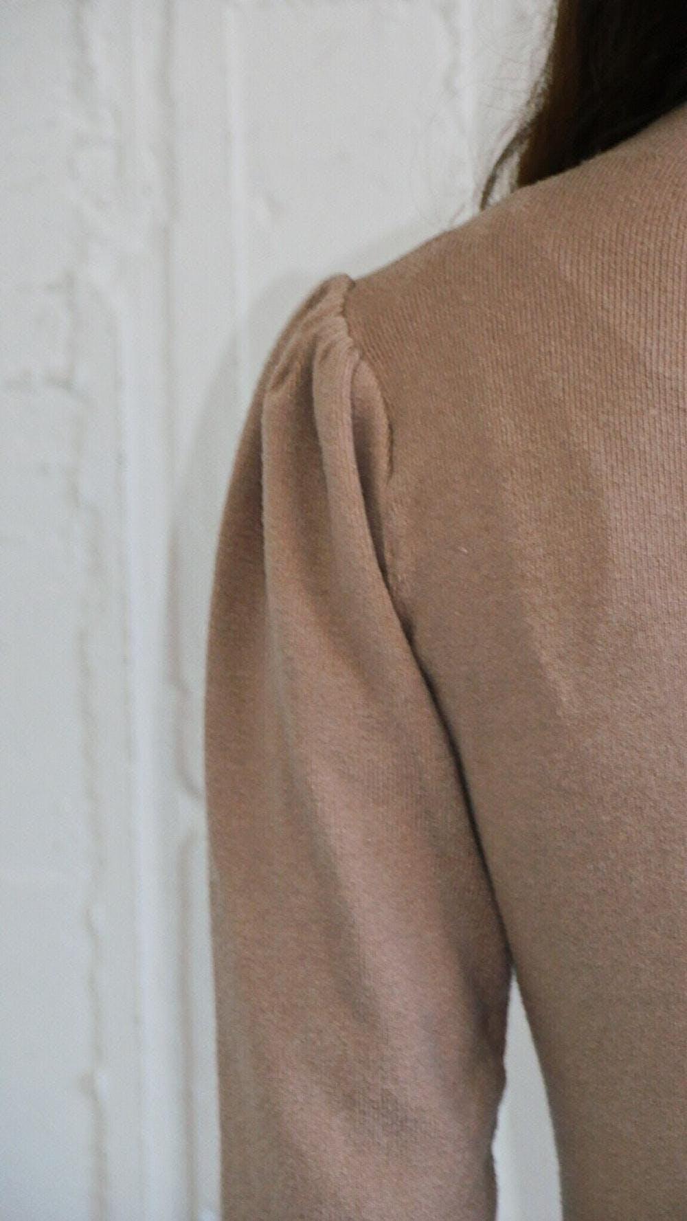 【2/20~順次発送】Puff knit onepiece-0