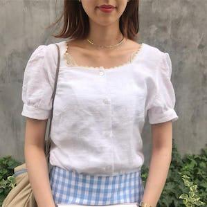 ennui white blouse
