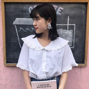 baby frill blouse
