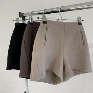 high waist short pants