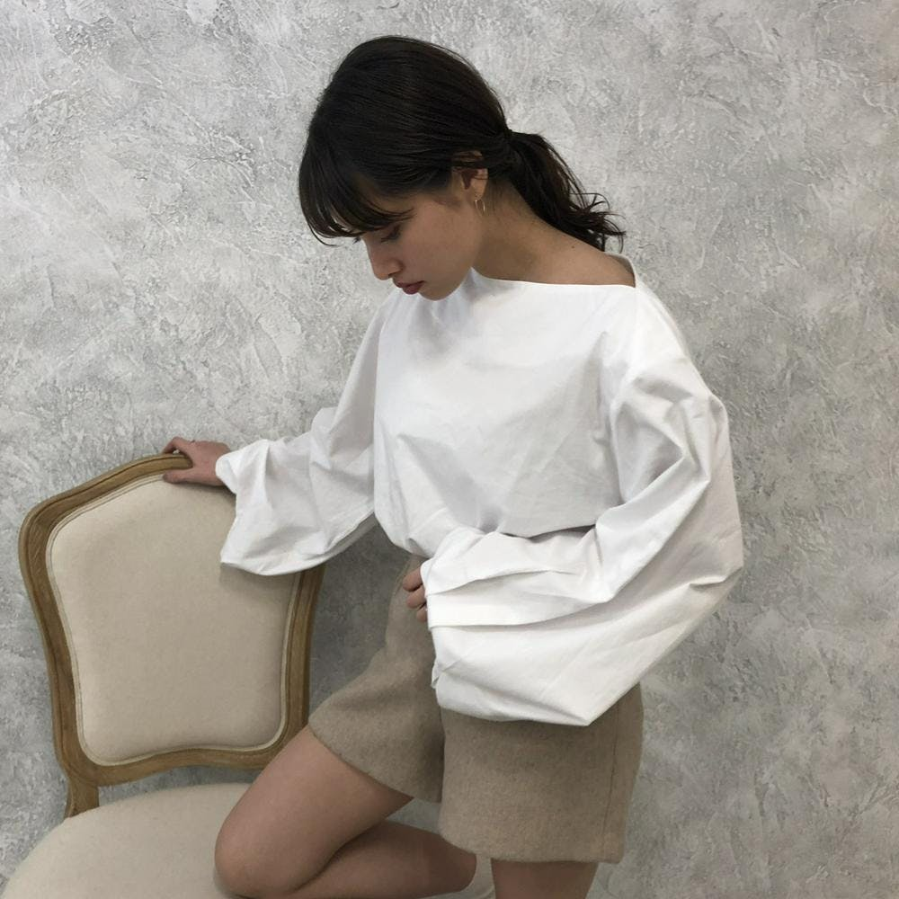 【4/24~順次発送】volume blouse