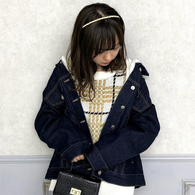big stitch denim jacket-0