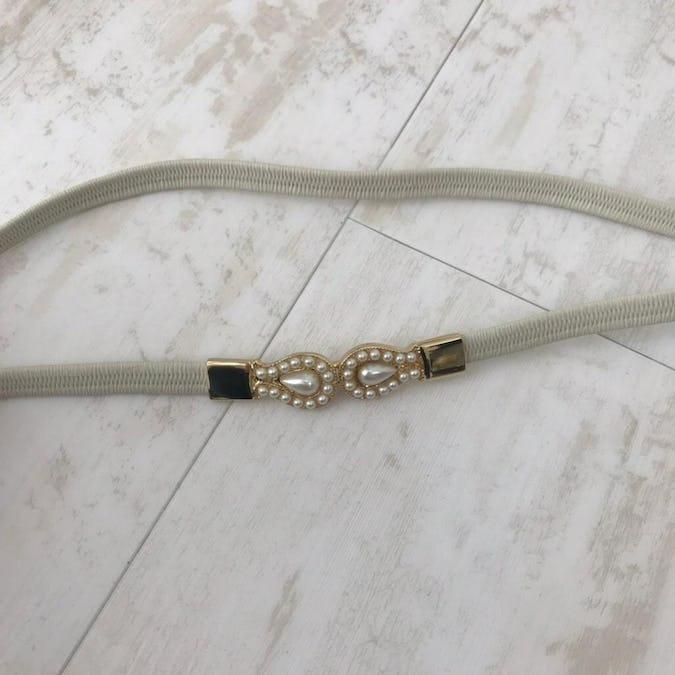 pearl elastic belt