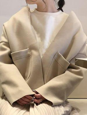 simple nocollar jacket