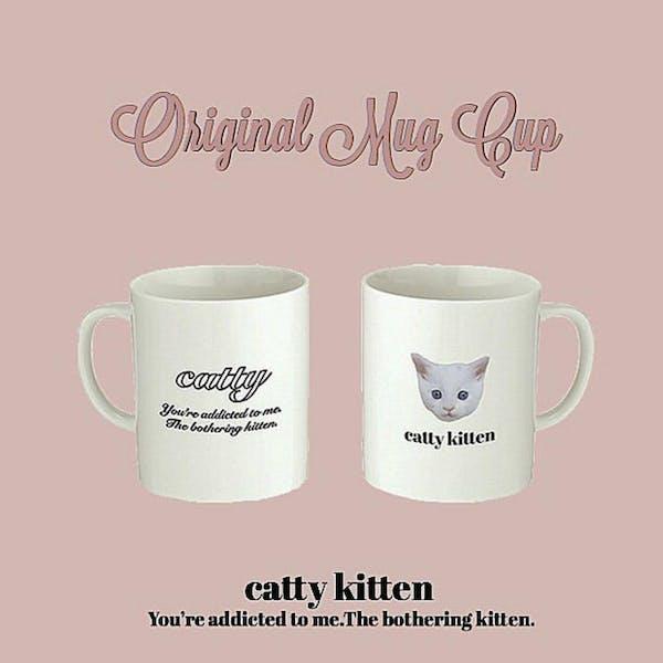 catty mug cupの画像1枚目