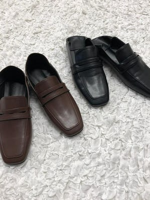 2way square loafer