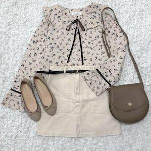 flower sailor blouse