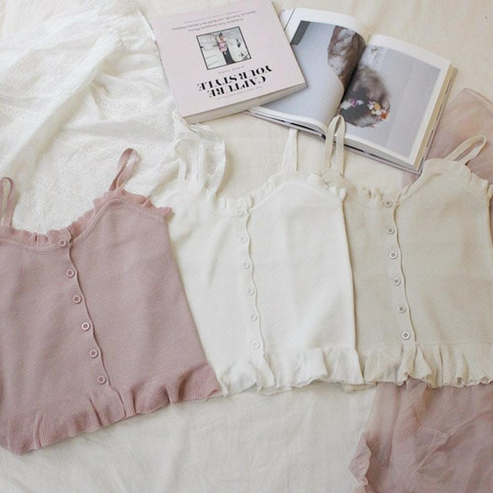 summer knit camisole
