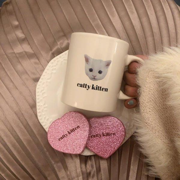 catty mug cupの画像5枚目