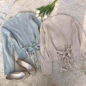 backribbon cardigan