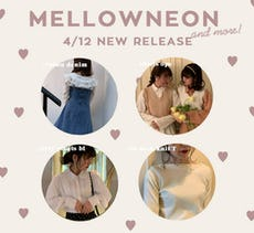 mellowneon 4/12 New relese ~ 今すぐ使える春の新作アイテム!~