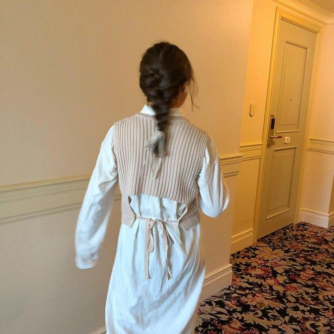 backribbon vest