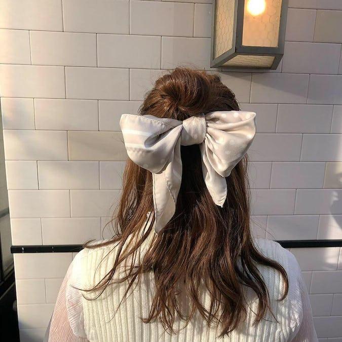 retro dot scarf