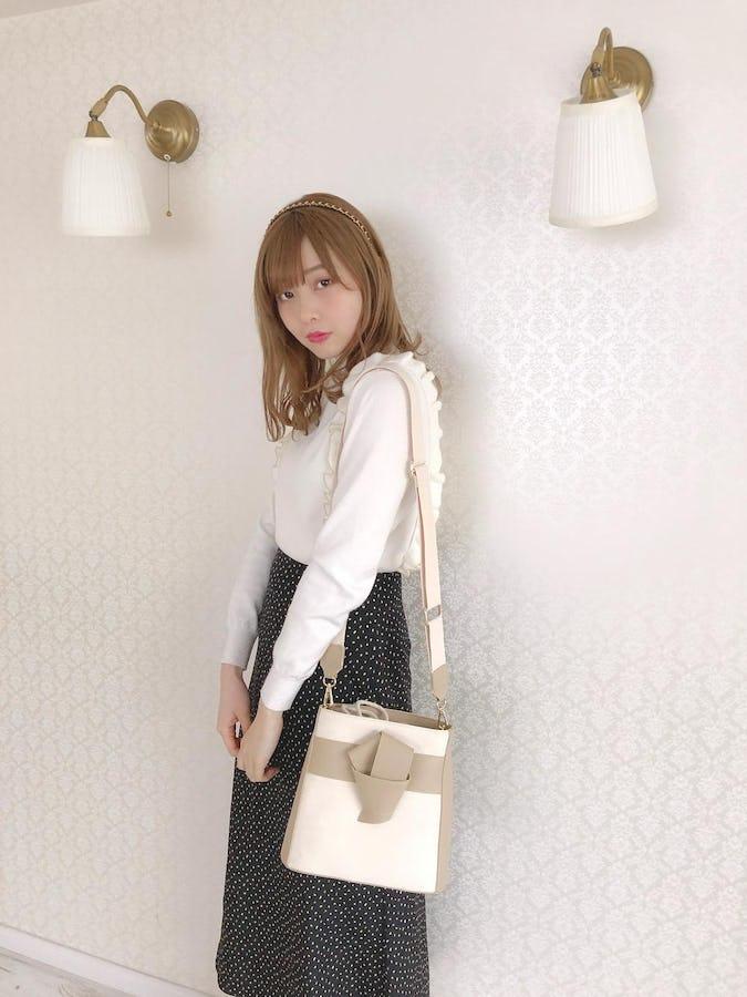lapping shoulder bag