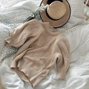 puff summer knit
