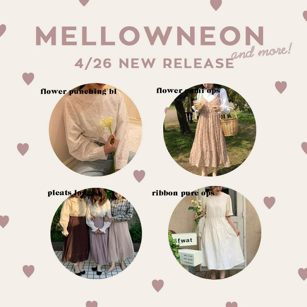 mellowneon 4/26 New release item