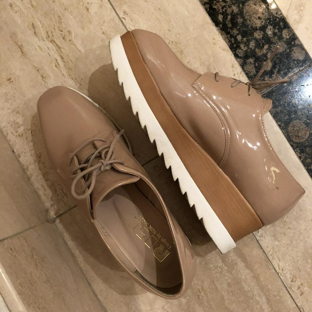 【5/21~順次発送】laceup platform shoes