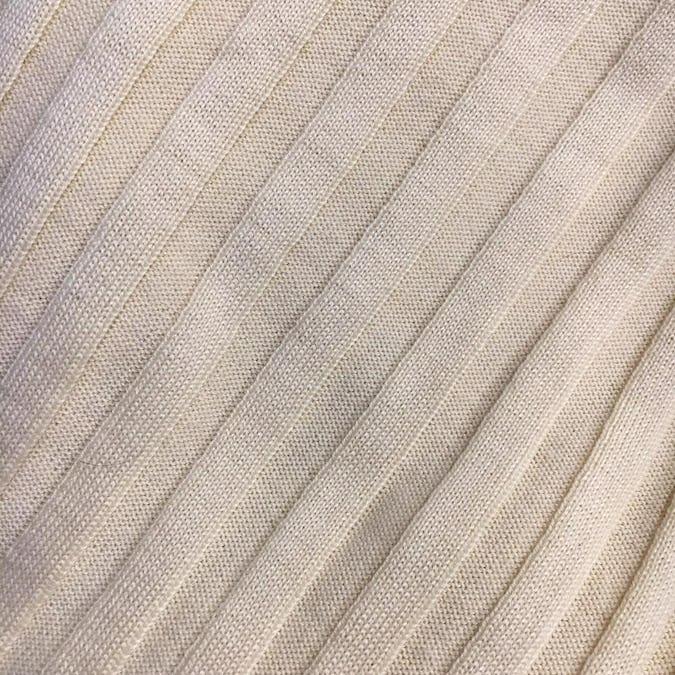 オフショルダーニットTシャツ