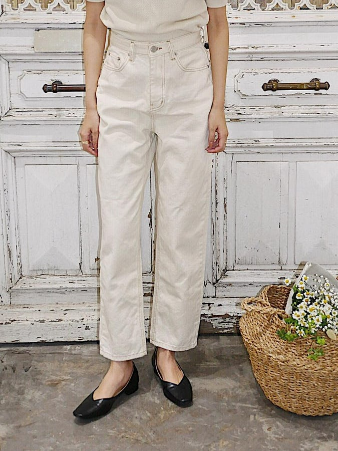 marin denim pants
