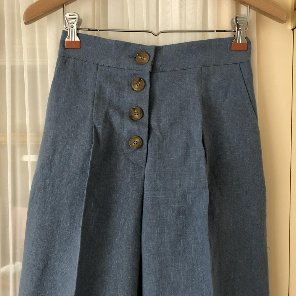 【5/21~順次発送】high waist wide pants