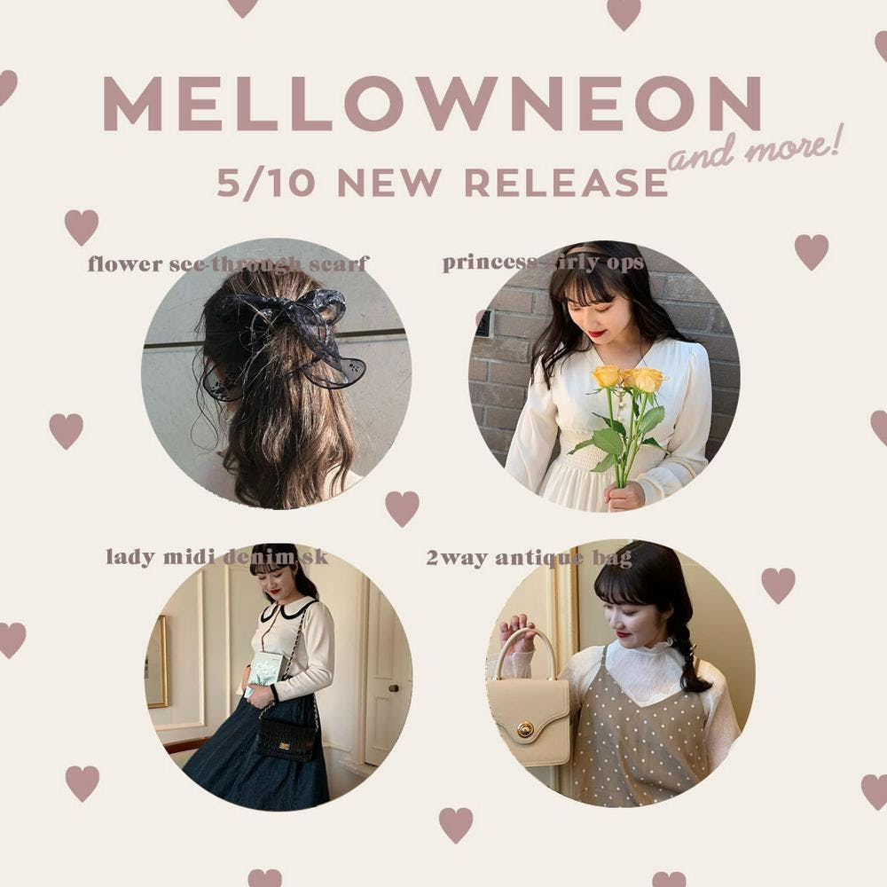 mellowneon 5/10 New release item