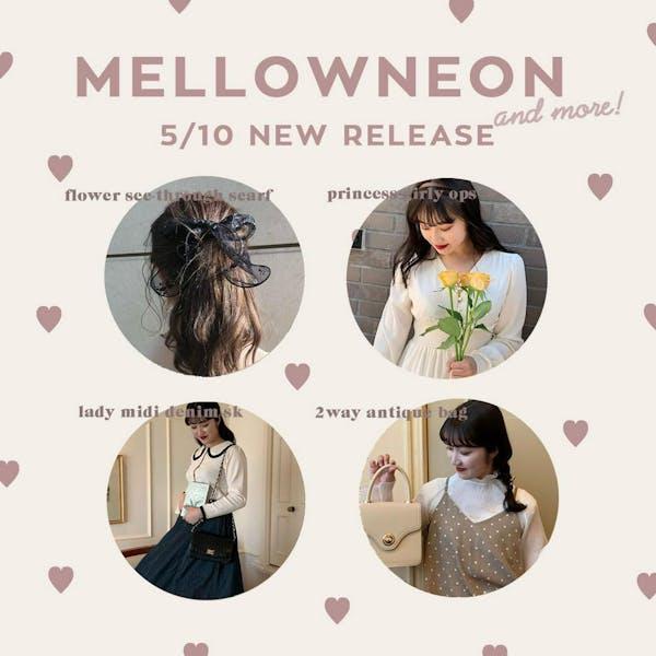 mellowneon 5/10 New release item