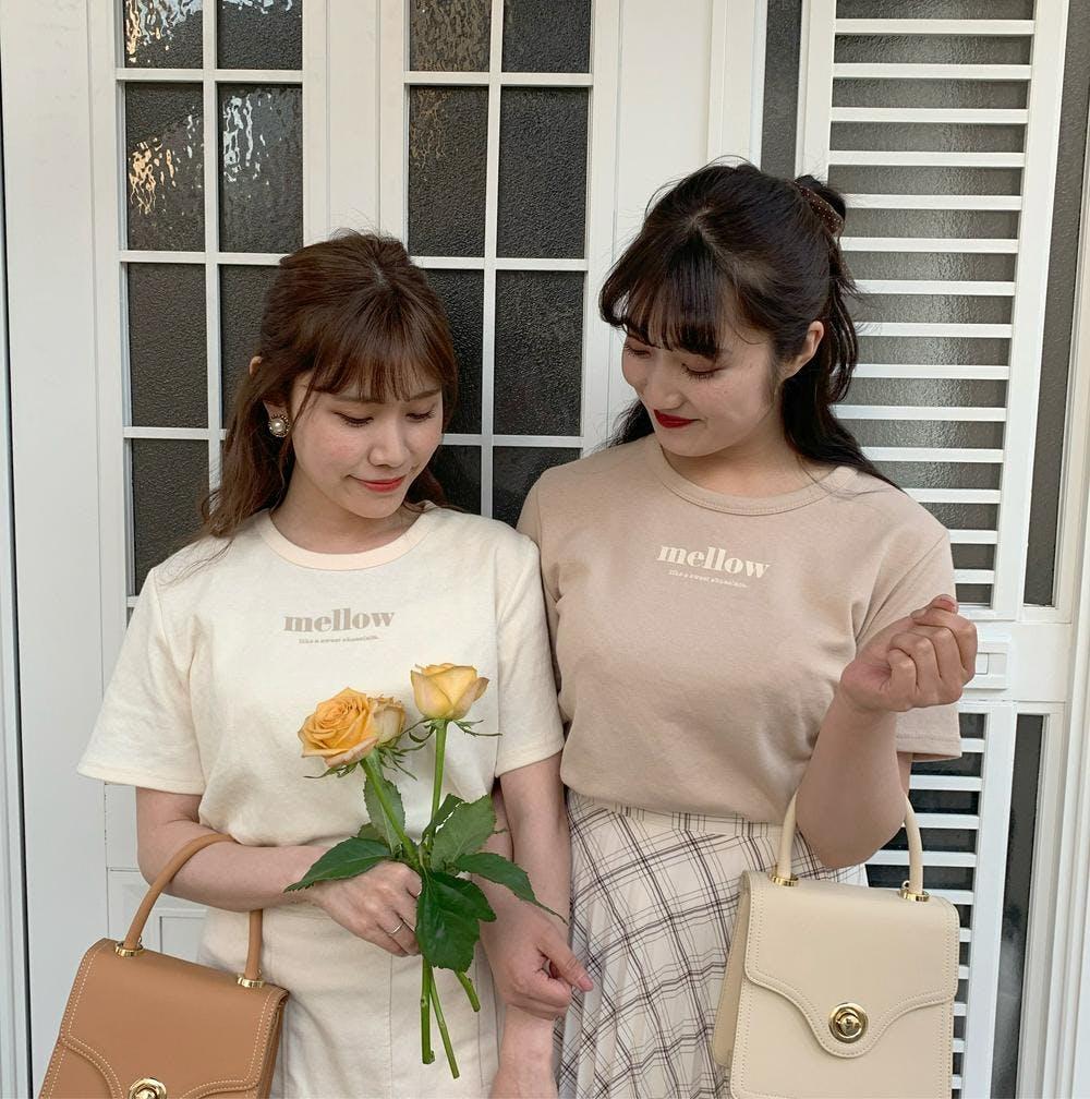 【5/21~順次発送】mellow chibi tee