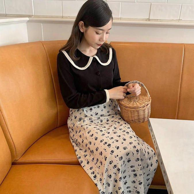 メロウフラワースカート