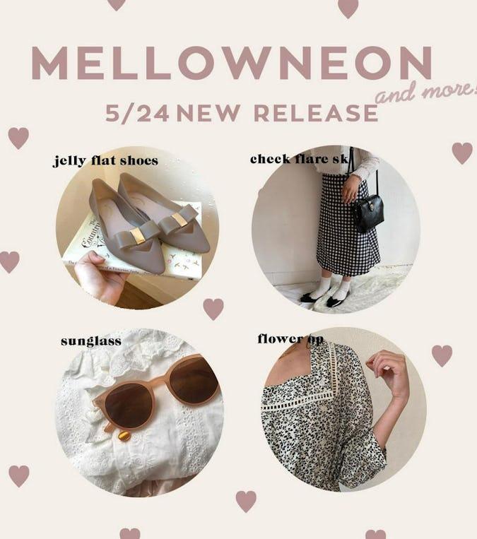mellowneon 5/24 New release item